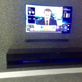 tv mounting with no cabling lanarkshire