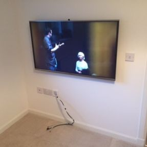 tv mounting no cables south lanarkshire