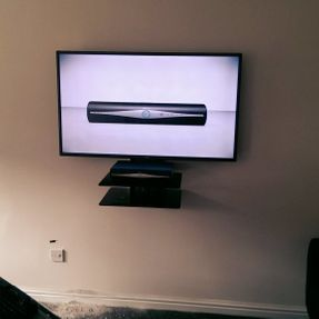 Redline Electronics tv mounting hidden cabling