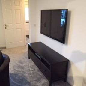 tv wall mounting cable free south lanarkshire