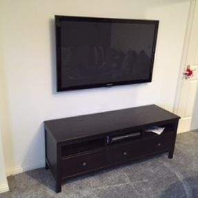 tv hanging cable free north lanarkshire