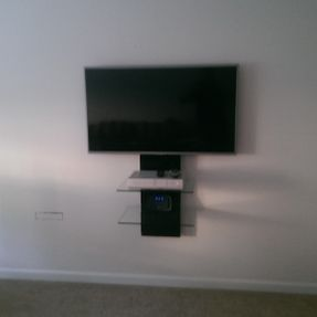tv wall mounting tv aerials installed motherwell