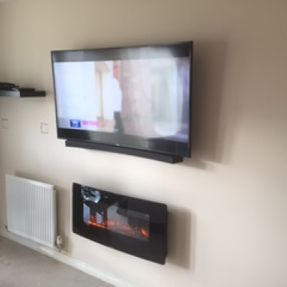 tv mounting motherwell