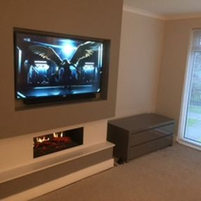 tv wall hanging lanarkshire